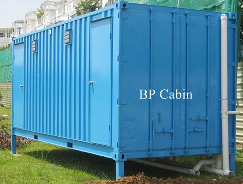 Container Toilet / Bathroom